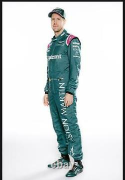 Aston Martin Printed Racing Suit 2021 Style