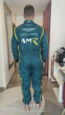 Aston martin racing suit KART RACING SUIT CIK FIA LEVEL II APPROVED