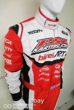 Birel Art kart racing suit digital printed made to measure Level 2 karting suit