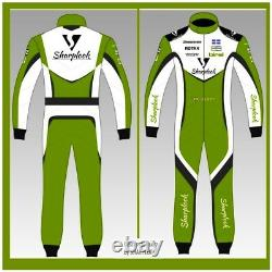 CUSTOM Go Kart Race Suit Sublimation Printed