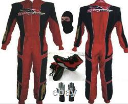 DR Go Kart Race Suit CIK FIA Level 2 Approved With Shoes Free Gloves & Balaclava