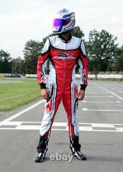 DR Sublimation Printed go kart race suit, In All Sizes