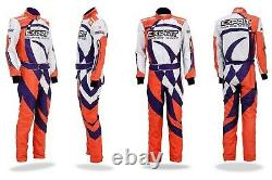 Exprit kart racing suit With free balaclava custom-made suit -All sizes
