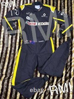 F1 Daniel Ricciardo Printed Suit Go Kart/karting Race/Racing Suit