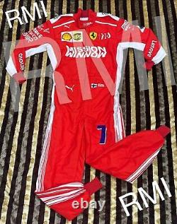 F1 Kimi Mission Winnow Latest Style Printed Race Suit/ Go Kart/Karting/ Racing