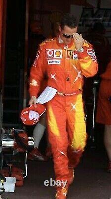 F1 Michael Schumacher 2006 Special Printed Racing suit/Go kart/Karting/Racing