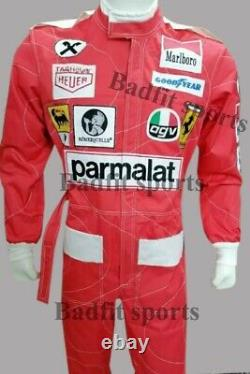F1 Niki Lauda 1976 replica embroidered patches go kart race suit, In All Sizes