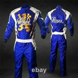F1 Praga style race suit embroidered go kart race Karting suit In All Sizes