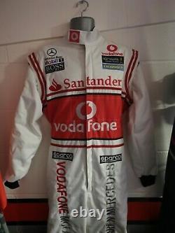 F1 Replica Race Suit- Team McLaren/ Vodafone Lewis Hamilton Karting Suit