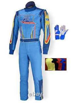 FA Kart race suit CIK/FIA level 2 2015 style (free balaclava and gloves)