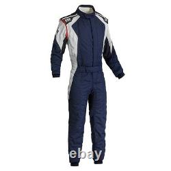 FIA OMP FIRST EVO Race Suit Blue rally overall moto 8856 2000 STOCK