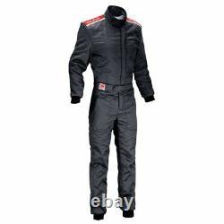 FIA OMP Sport Race Suit Black rally overall motorsport 8856 2000 STOCK