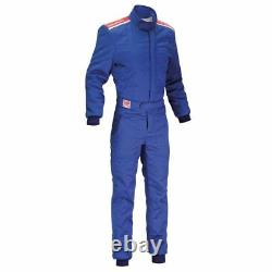 FIA OMP Sport Race Suit Blue rally overall motorsport 8856 2000 STOCK