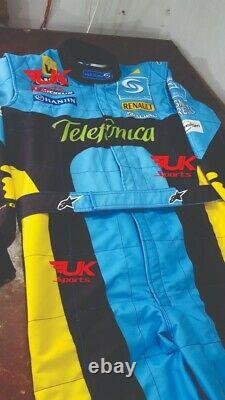 Fernando Alonso Printed Racing Suit 2006