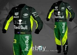 Go Kart Printed Race Suit CIk/FIA Approved Free Gift