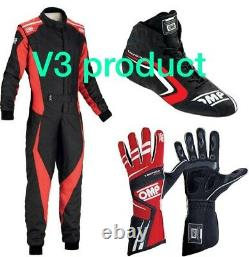 Go Kart Race Suit Cik/fia Level 2 Approved With Matching Shoes & Gloves