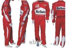 Go Kart Race Suit MALBORO Karting Race Wear Adult Embroiderd