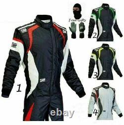 Go Kart Racing Suit Cik Fia Level II With Digital Sublimation Print