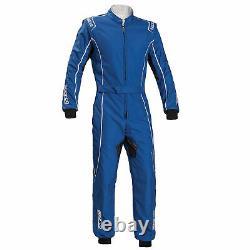 Go Kart Sparco Ks-3 Groove Kart Suit Blue 150 Karting Racing Race