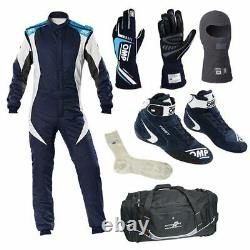 Go kart Race Suit With gloves, shoes balaclava, socks and Bag
