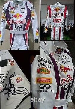 Go-kart-red Bull-race-suit Cik/fia Level 2 Approved With Shoes