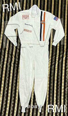 Gulf Embroidered Patches Go Kart/Karting Race/Racing Classical Hobby Race Suit