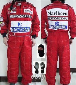 Honda Marlboro McLaren Kart race suit CIK/FIA Level 2 (Free gifts)