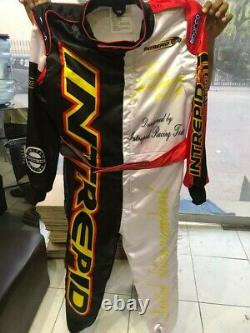 Intrepid Go Kart Race Suit Cik/fia Level 2 Approved With Free Gifts Included