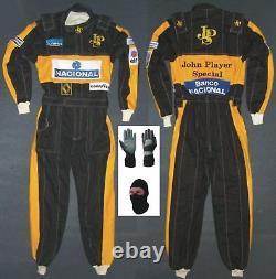 J&P Go Kart Race Suit CIK /FIA Level 2 with Free Gift