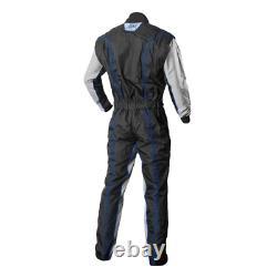 K1 RaceGear 10-GK2-B-LXL CIK/FIA Level 2 Approved Kart Racing Suit Large (Blue)