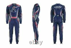 Kosmic Go Kart Race Suit Cik/fia Level 2 Approved With Free Gifts Included
