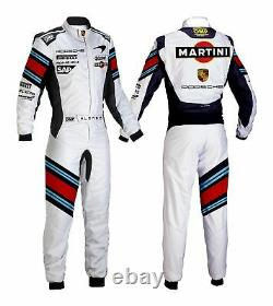 Martini Go Kart Race Suit Cik/fia Level 2 Approved With Free Gifts