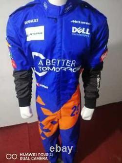McLaren kart racing suit digital printed made to measure Level 2 karting suit