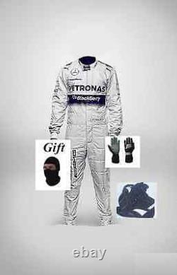 Mercedes AMG kart race suit KIT CIK/FIA level 2 2014 style(free gifts)