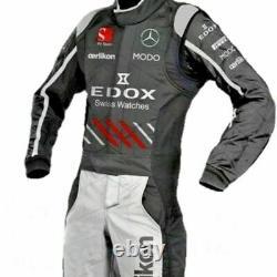 Mercedes-go Kart Racing Suit Cik Fia Level II Approved