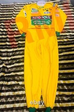 Miachael Schumacher 1992 printed race suit / Benetton F1/Go Kart/Karting Suit