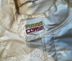 Momo Corse Torino Race Suit 3 Layer NOMEX FIA 05.181. CSAI. 93 NORME 1986 Size 58