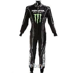 Monster Kart racing suit race suit go karting suits