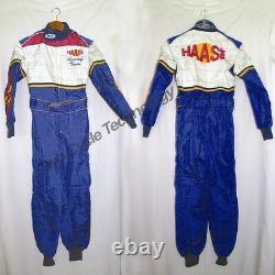 New HAASE Factory Racing Go kart Driving Suit, MIR, Shifter Kart, KT100