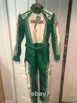 OMP KS-1R Tony Kart Suit Size 150 KS1R Karting Racing TonyKart Vortex IAME Rok