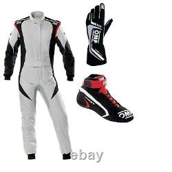 OMPGo Kart Racing Suit with Shoes and GlovesCIK-FIA LEVEL 2 approvedUS Seller