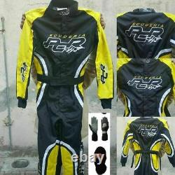 Pcr-go Kart Racing Suit Sublimated Cik Fia Level 2