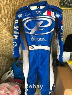 Praga Go Kart Race Suit Cik/fia Level 2 Approved With Free Gifts Included
