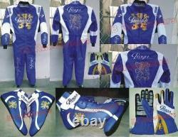 Praga Kart Race Suit CIK FIA Level 2 Approved Shoes with free gift Gloves