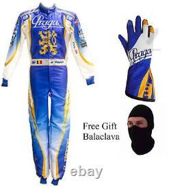 Praga Karting suit Go kart racing suit Gloves & balaclava included