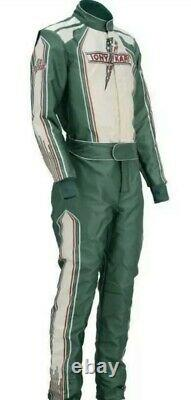 Printed Tony Kart suit Go Kart Racing suit free gifts included