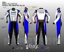 RICCIARDO Kart Racing Suit extreme Quality CIK-FIA Level 2