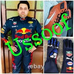 Red Bull NEW Go Kart Race Suite CIK FIA Level With Gloves Shoes and Gift