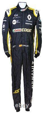 Renault racing suit digital printed made to measure Level 2 karting suit