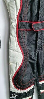 Sparco Racing Suit Go Kart Formula One Size M Black White Sandtler Padded 2001